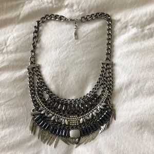 Bauble Bar Chunky Multi-stone Statement Necklace